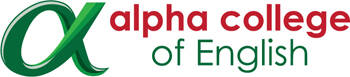 Alpha College of English Logo