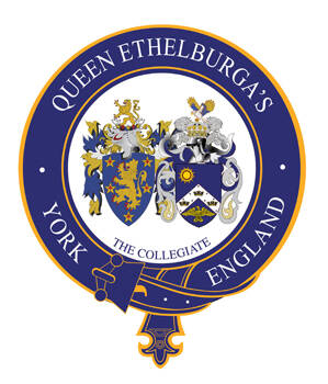 QUEEN ETHELBURGA'S COLLEGE Logo